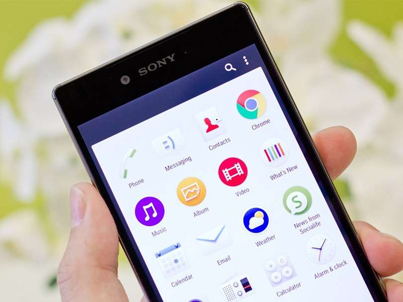 موبایل جدید سونی با صفحه نمایش 4K