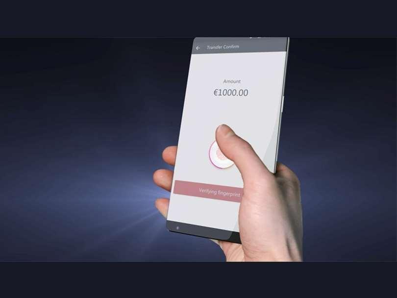 مکان بعدی حسگر اثر انگشت زیر صفحه نمایش !