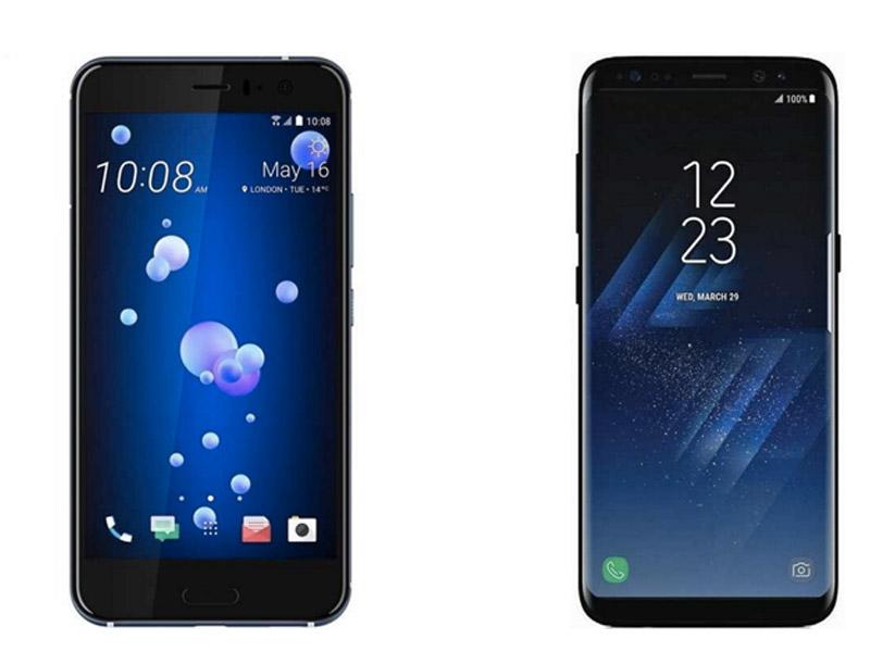 مقایسه دوربین موبایل HTC U11 و گلکسی اس 8 پلاس
