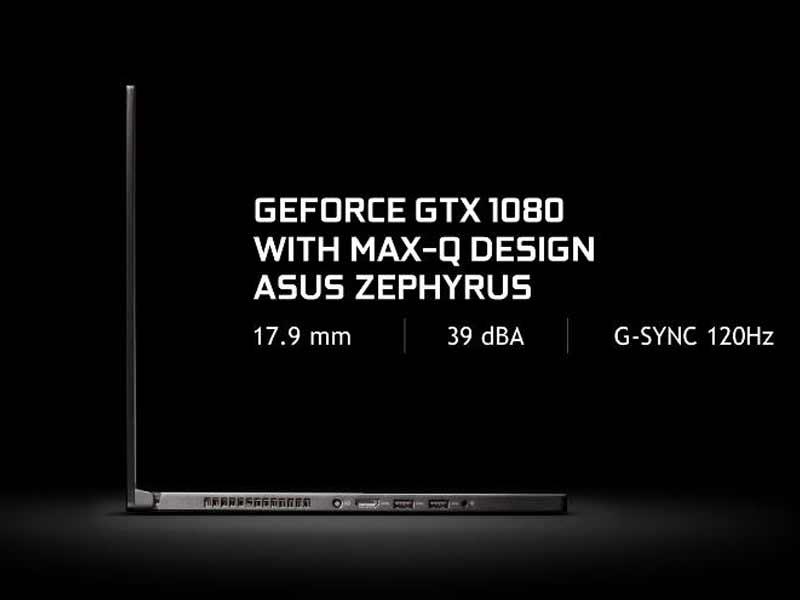 ویژگی های سخت افزاری لپ تاپ گیمینگ ROG Zephyrus ایسوس اعلام شد