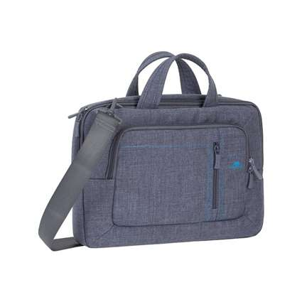 Riva Case 7520 Canvas Shoulder Laptop Bag