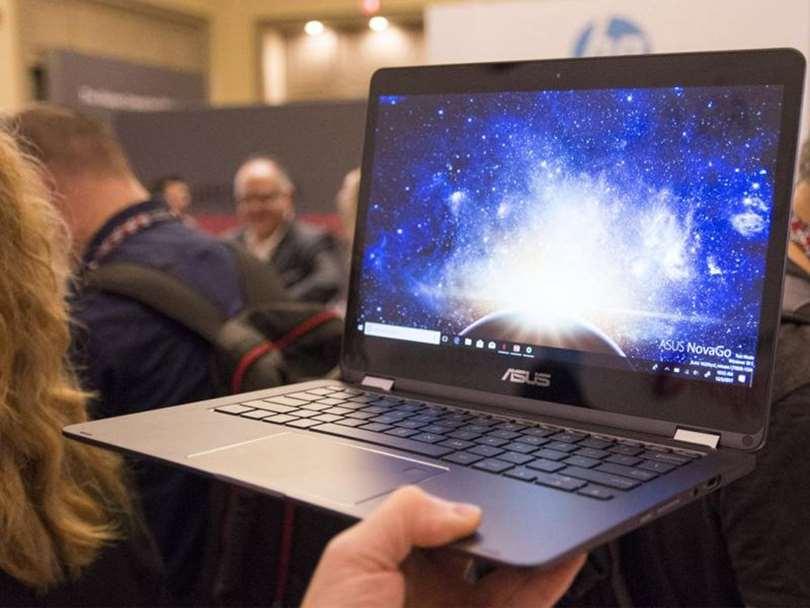 لپ تاپ ایسوس  NovaGo اولین با  اسنپدراگون 835