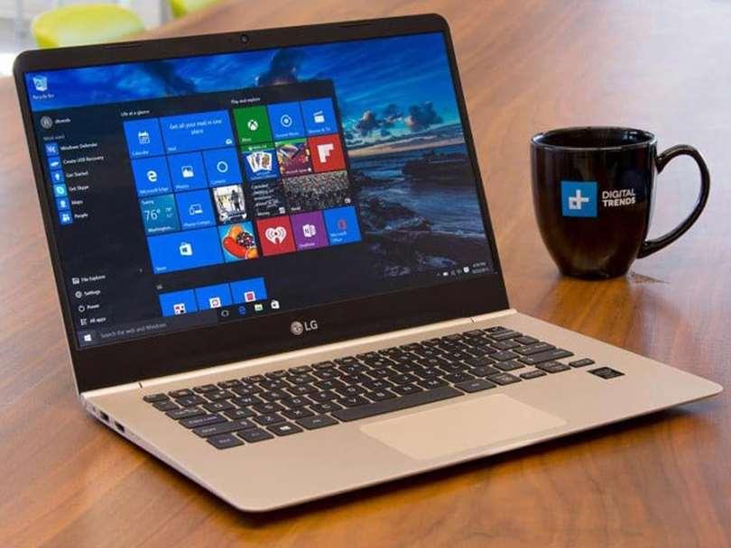 ال جی مدعی تولید باریک ترین لپ تاپ جهان