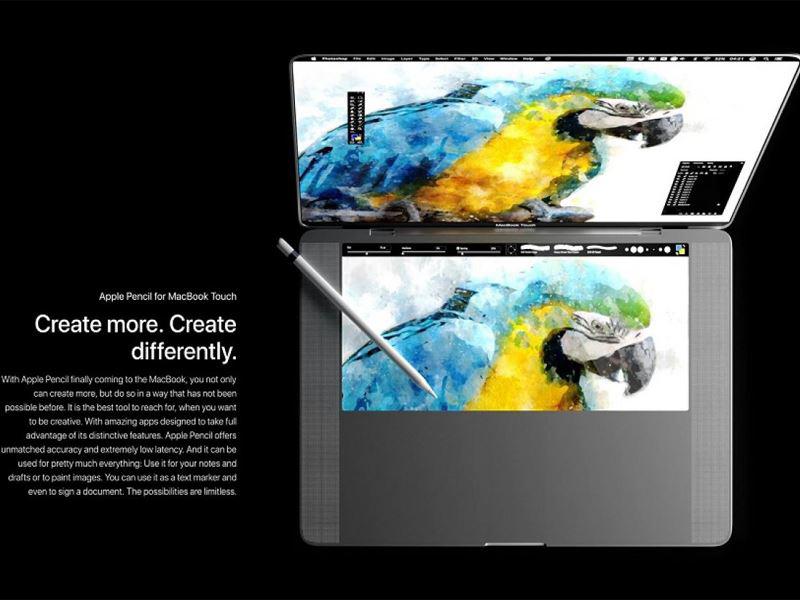 آیا MacBook Touch محصول جدید اپل است؟!