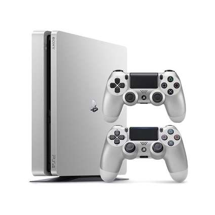 Sony Playstation 4 S 2116 500GB Region 2 Double Controller Silver
