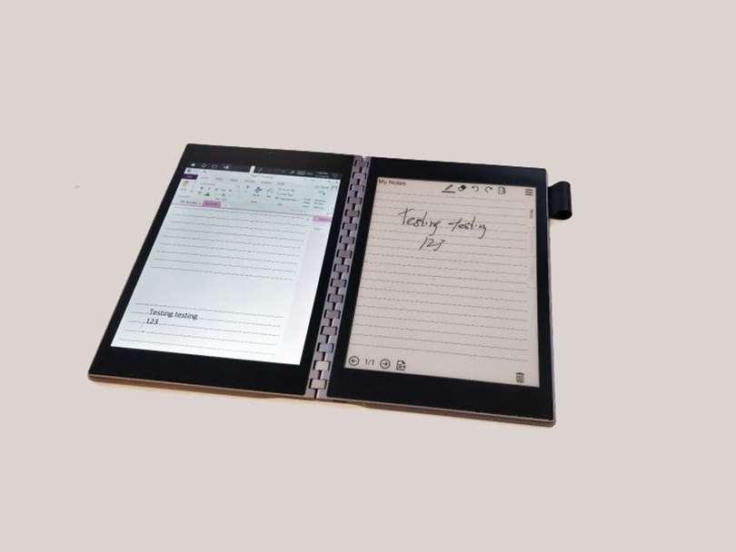 اینتل و لپ تاپ هایی با نمایشگر دوگانه