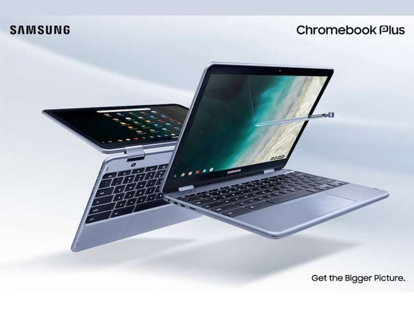 نسخه جدید Samsung Chromebook Plus معرفی شد