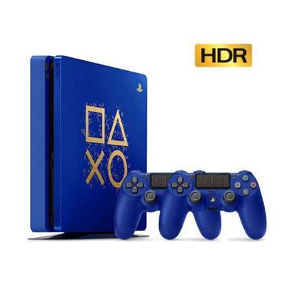 Sony Playstation 4 Slim CUH-2116 R2 500GB - Double Controller Copy Set