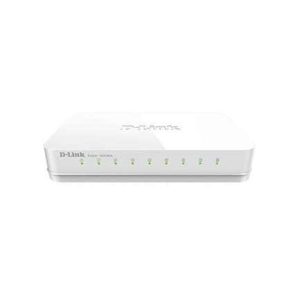 Desktop Gigabit Switch D-Link DGS-1008A 8-Port