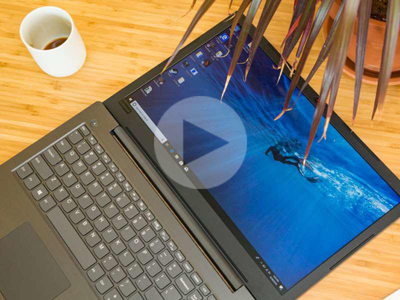 تماشا کنید: جعبه گشایی لپ تاپ لنوو Lenovo V330