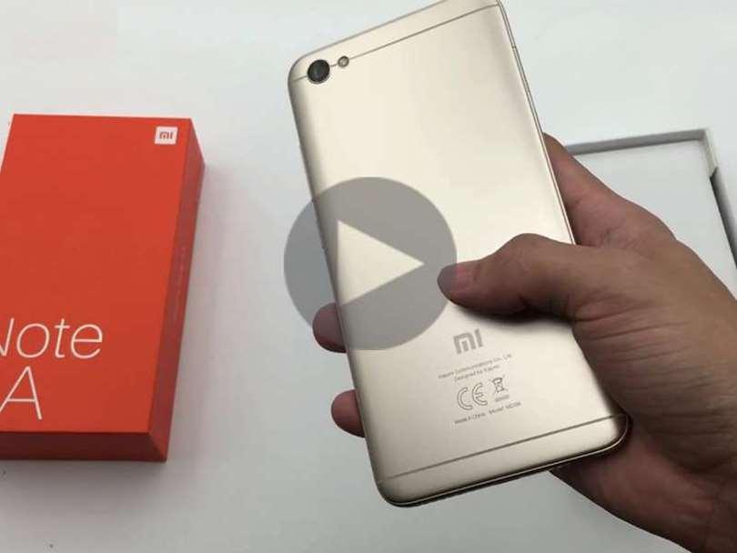 تماشا کنید:بررسی موبایل شیائومی Xiaomi Redmi Note 5A