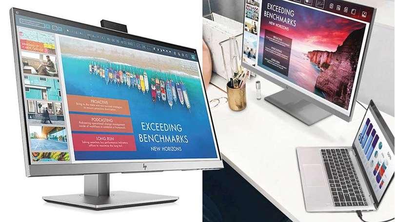 رونمایی از لپ تاپ، آل این وان و مانیتور جدید اچ پی در CES 2019