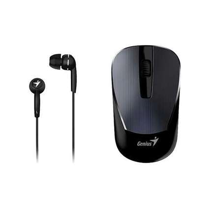 Genius MH-7018 Wireless Mouse and Headset