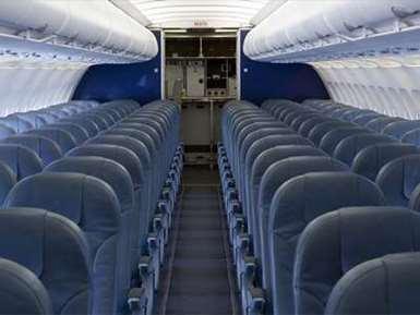 چرا صندلی هواپیما آبی رنگ است ؟