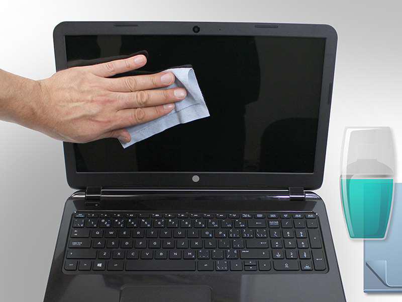 روش های اصولی تمیز کردن لپ تاپ