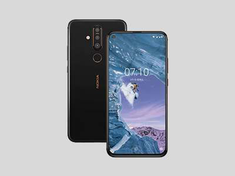 نوکیا X71، اولین گوشی HMD با نمایشگر دارای حفره رونمایی شد