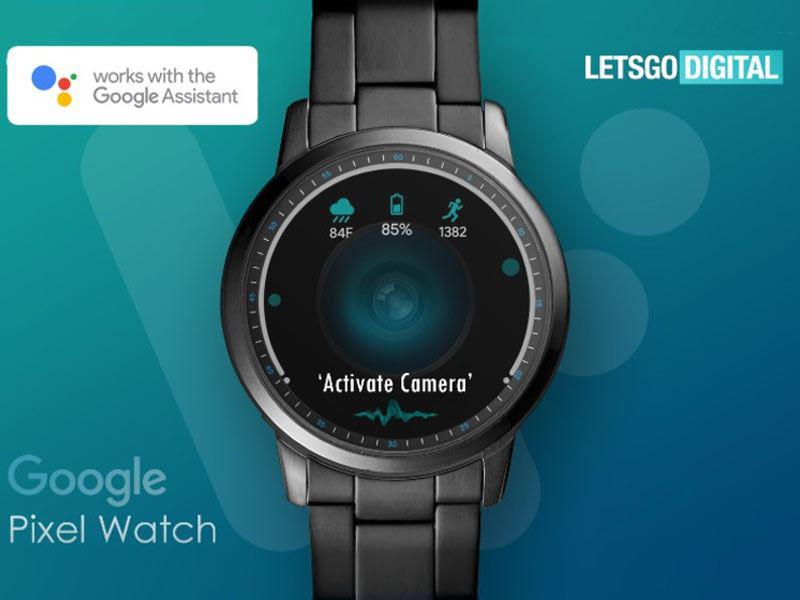 پیکسل واچ گوگل مجهز به دوربین خواهد بود