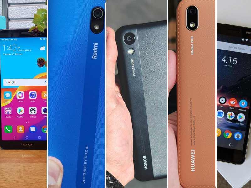 مقایسه ی 5 گوشی در رنج قیمتی 1 تا 1.5 میلیون تومان
