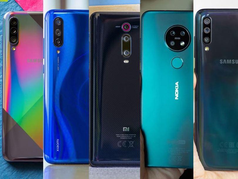مقایسه پنج گوشی 4 تا 5 میلیون تومن