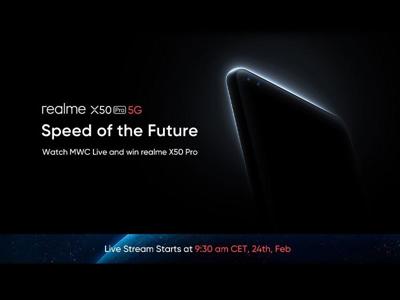 گوشی ریلمی X50 پرو ۵G از نمایشگر ۹۰ هرتزی و شارژر سریع ۶۵ واتی پشتیبانی خواهد کرد!