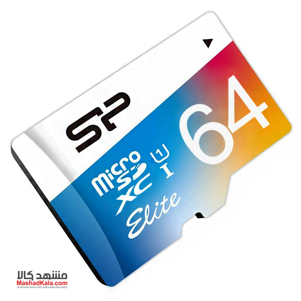 Silicon Power Elite 64GB U1 Class 10 85MB/s microSDXC UHS-I