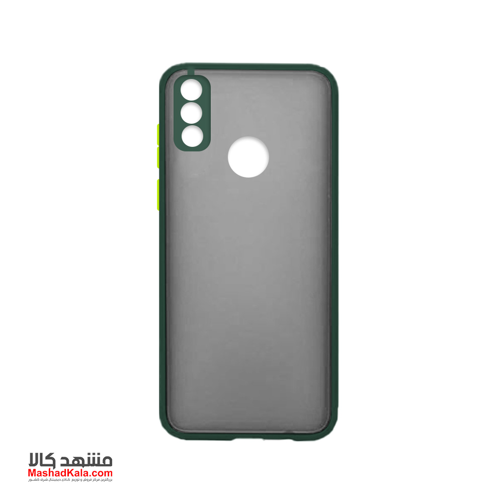 Matte Cover With Camera Lens Protector For Huawei Y8S