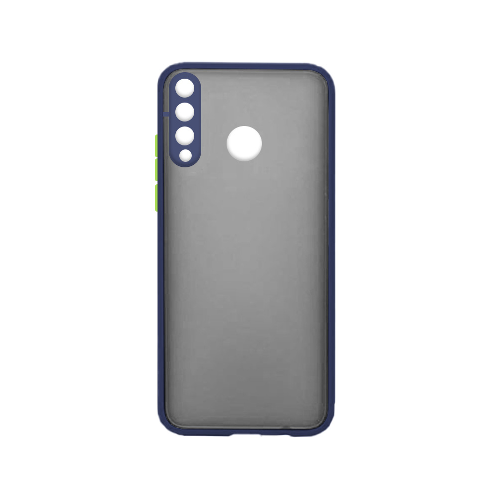 Matte Cover With Camera Lens Protector For Huawei P30 Lite