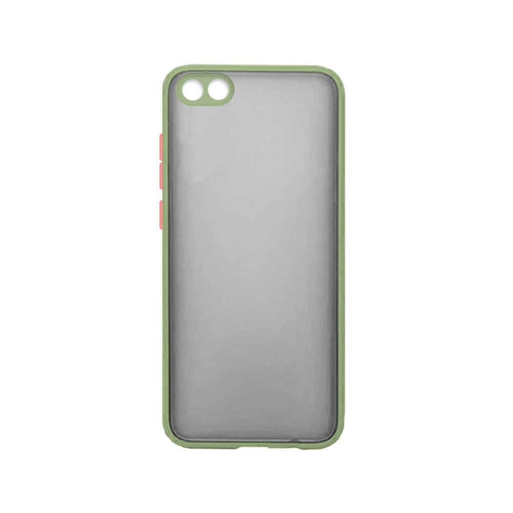 Matte Cover With Camera Lens Protector For Huawei Y5 2019