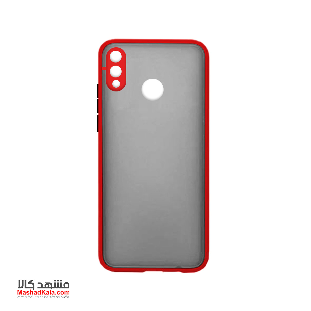 Matte Cover With Camera Lens Protector For Huawei Y6 Prime 2019
