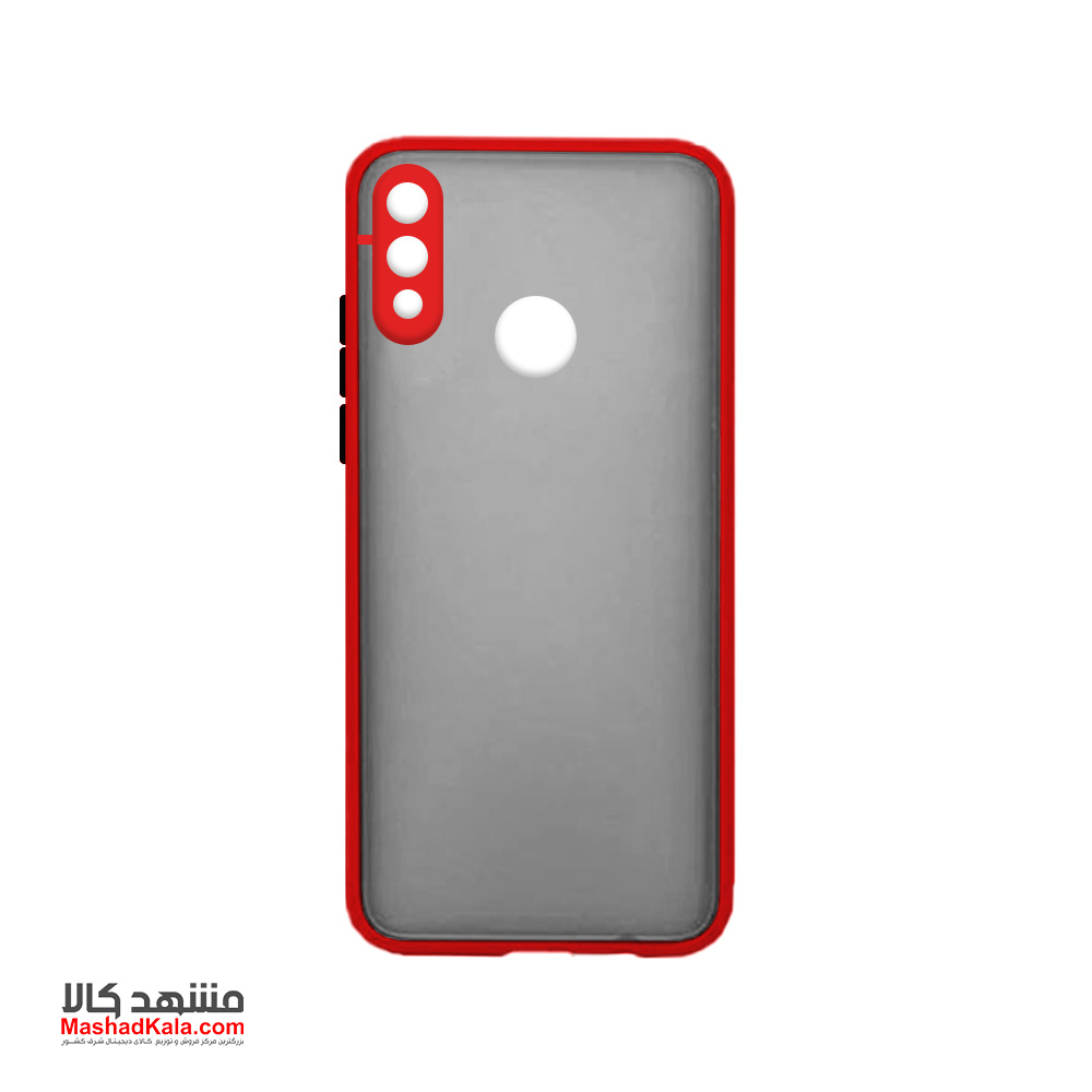 Matte Cover With Camera Lens Protector For Huawei Y7 Prime 2019