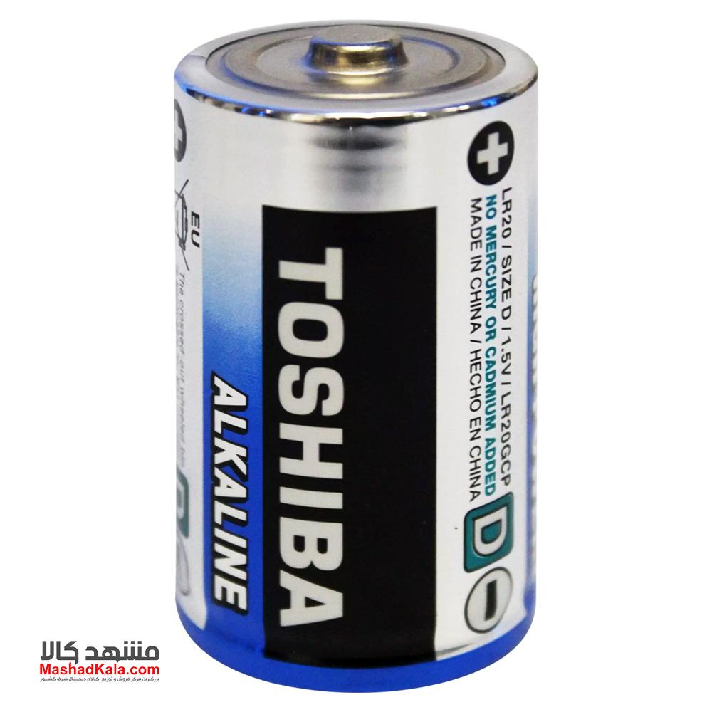 Toshiba Alkaline LR20